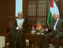 Президентът Махмуд Аббас пристигна в Оман, за да отдаде последно уважение на покойния султан на Оман.