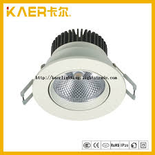 7w rotatable embedded cob led ceiling light