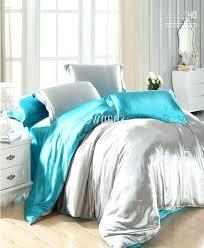 silver comforter sets description