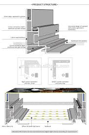 Seg Edge Lit Led Slim Light Box Frame Aluminum Profile 60mm Buy Edge Lit Led Aluminum Profile Slim Light Box Frame Aluminum Profile Led Aluminum