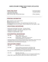 College Resume Builder