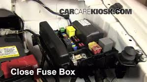 replace a fuse mitsubishi endeavor mitsubishi 6 replace cover secure the cover and test component