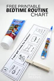 Bedtime Routine Chart Printable Mix Read2me Tonight Challenge Free Printable Bedtime