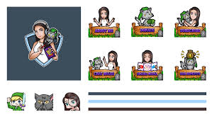 How To Design Emotes For Twitch Streamshark Custom Twitch Overlays Emotes Alerts And Panels