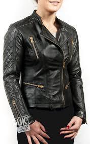 handmade womens black leather leather jackets jacket in l cross zip biker purdy sizes 8 10