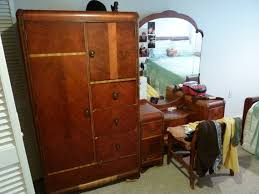 Simple Ideas Antique Bedroom Furniture 1930 The Elegant Waterfall Bedroom  Set For Existing Property