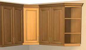 Unfinished Corner Shelves 100 Door Exposed Interior Corner Shelf Cabinet 9