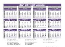 2021 starts on friday, january 1st 2021 and ends on friday, december 31st. Printable 2021 Fiscal Year Calendar Template Calendarlabs