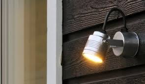 outdoor wall lighting ideas. Exterior Wall Adjustable Spotlights Outdoor Lighting Ideas