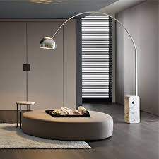 Image Glass Shade Arc Floor Lamps Interiordeluxecom Modern Floor Lamps Contemporary Floor Lamp Interiordeluxecom
