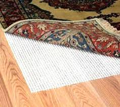 rug pads safe for hardwood floors s are rubber