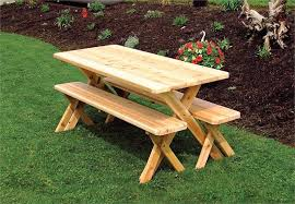 picnic table with detached benches simple cedar picnic table design round picnic table with detached benches
