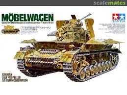 German Flakpanzer Möbelwagen, Tamiya 35237 [1999)