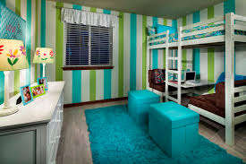 pretty loft bed with desk and couch