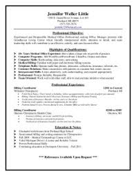 resumes for medical billing and coding  seangarrette comedical billing coding resume sample jens resume   x    resumes for medical billing