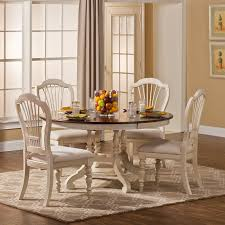 hilale pine island 5 piece round dining set with wheat back pine dining room table and