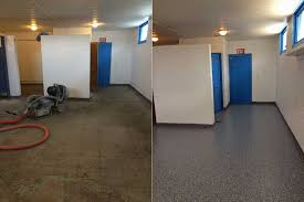 no more ugly floor paint rubber mats