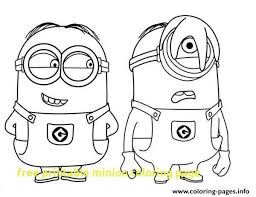 Free Minion Coloring Pages Unique Printable Minions Coloring Pages