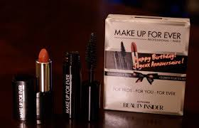 make up for ever birthday gift from sephora