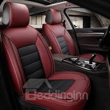 leather material universal fit car seat covers 11 classic