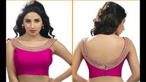 Saree Blouse Designs Front And Back 2017 Latest Saree Blouse Designs 2017 Talibmag Com