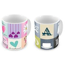 cute mugs online. Delighful Cute Buy Love You Mother N Father Printed Cute Coffee Mugs Pair Online And Online F