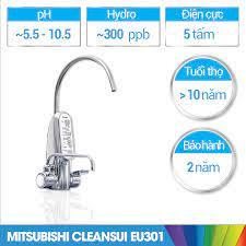 Máy lọc nước ion kiềm Mitsubishi Cleansui EU301 chính hãng - Thê Giới Điện  Giải