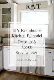 here are the kitchen remodel details and cost breakdown of our inexpensive diy makeover that turned