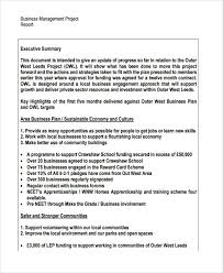 executive summary format for project report 18 examples of project reports