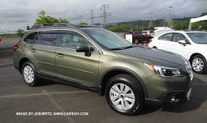 2015 subaru outback colors. 2015 wilderness green subaru outback with optional side moldings wheel arch colors w