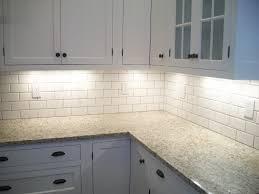 image of white glass subway tile ideas