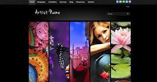 art portfolio template free joomla 2 5 template photographer artist portfolio free joomla