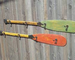 Canoe Paddle Coat Rack Canoe Paddle Coat Rack New Arrivals Back at the Ranch 1