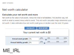 Smart Spending Net Worth Calculator Calculate Your Net Worth And