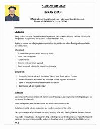 Resume Format Download Doc File Fresh Indian Resume Format In Word