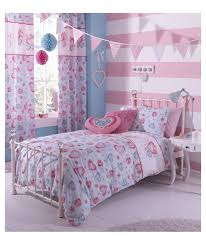 catherine lansfield sweethearts duvet cover set single at argos toddler bedding