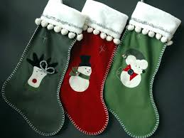 Handmade Christmas Stockings 40 Wonderful Christmas Stockings Decoration Ideas All About