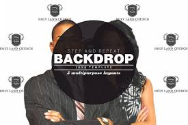 Step And Repeat Backdrop Photoshop Template