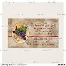 Visiting Card Design For Catering Services Catering Business Business Card Zazzle Com Visiting Card