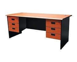 double office desk. cherry oak office desk mof ge 180 double pedestal depot solid o