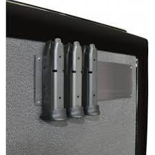 Pistol Magazine Holders Simple Gun Storage Solutions Magnetic Magazine Holders