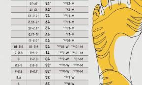 36 Scientific Vibram Five Finger Size Chart