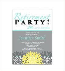 retirement flyer template free sample retirement party invitation party invitations template word