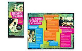 What Is A Pamphlet Sample Personal Training Brochure Examples Toddbreda Com