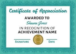 Make Your Own Certificate Of Achievement In Seconds