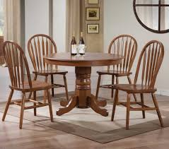 rug under round kitchen table. 40 Round Nostalgia Pedestal Dining Table Made Of Wood Together With 4 Chairs And Beige Rug Under Kitchen A
