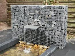 gabion water feature water features