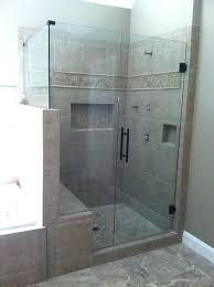 frameless shower door doors enclosures sweep w splash guard