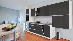 Küche Grau Weiß Glanz amped for