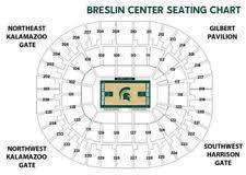 Lansing Center Seating Chart East Lansing Mi Football Tickets For Sale Ebay